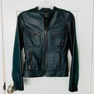 Rampage women's leather jacket